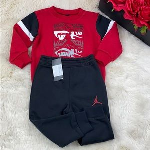 JORDAN SWEATPANT SET